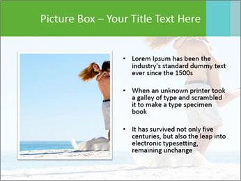 Beautiful young woman PowerPoint Template - Slide 13