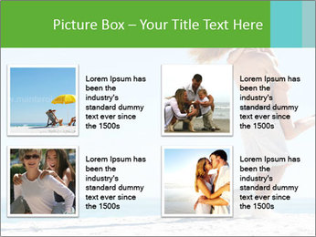 Beautiful young woman PowerPoint Template - Slide 14