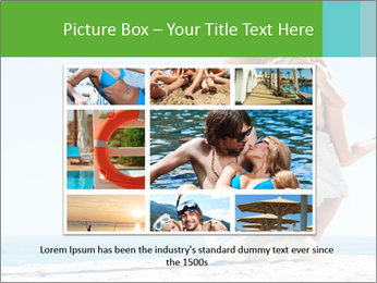 Beautiful young woman PowerPoint Template - Slide 15