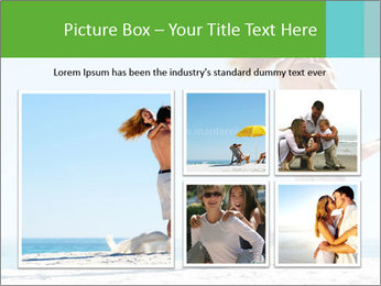 Beautiful young woman PowerPoint Template - Slide 19