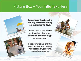 Beautiful young woman PowerPoint Template - Slide 24