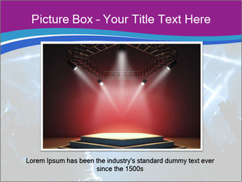 Silhouettes of people PowerPoint Template - Slide 15