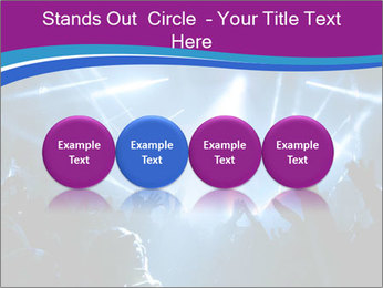 Silhouettes of people PowerPoint Template - Slide 76