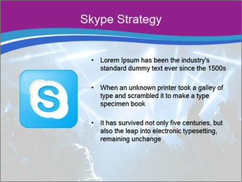 Silhouettes of people PowerPoint Template - Slide 8