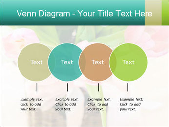 Pink tulips PowerPoint Template - Slide 32