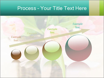 Pink tulips PowerPoint Template - Slide 87