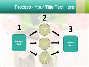 Pink tulips PowerPoint Template - Slide 92