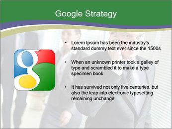 Businessman calling PowerPoint Template - Slide 10