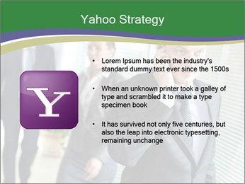Businessman calling PowerPoint Template - Slide 11