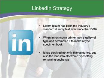 Businessman calling PowerPoint Template - Slide 12