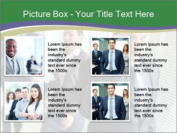 Businessman calling PowerPoint Template - Slide 14
