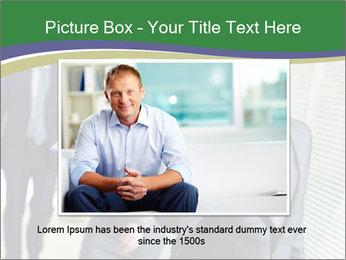 Businessman calling PowerPoint Template - Slide 15