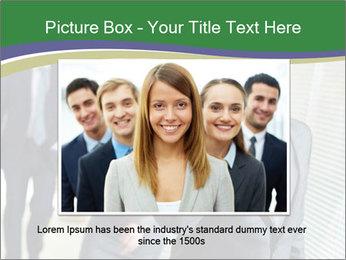 Businessman calling PowerPoint Template - Slide 16