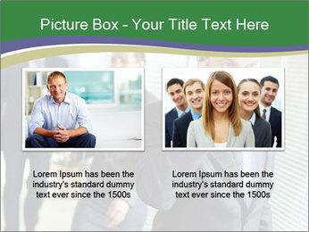 Businessman calling PowerPoint Template - Slide 18