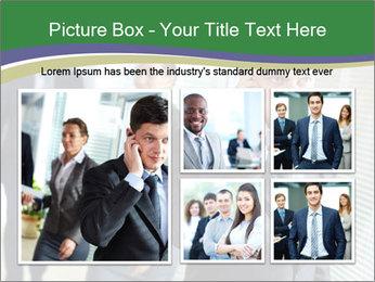 Businessman calling PowerPoint Template - Slide 19