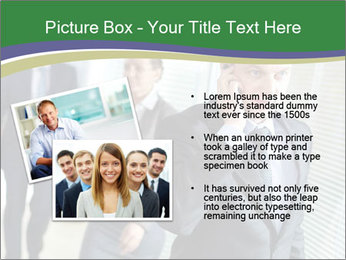 Businessman calling PowerPoint Template - Slide 20