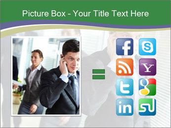 Businessman calling PowerPoint Templates - Slide 21