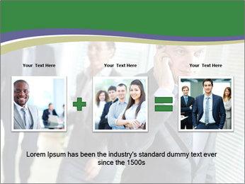 Businessman calling PowerPoint Template - Slide 22