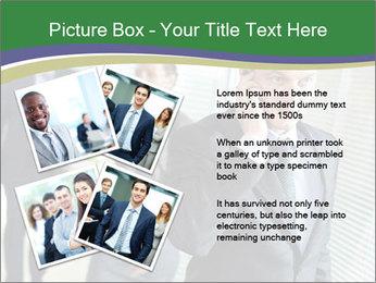 Businessman calling PowerPoint Template - Slide 23