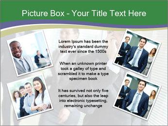 Businessman calling PowerPoint Template - Slide 24