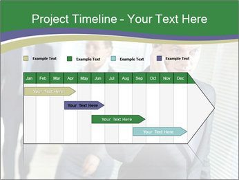 Businessman calling PowerPoint Template - Slide 25