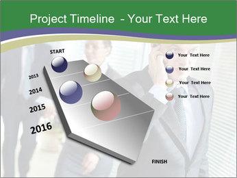 Businessman calling PowerPoint Template - Slide 26