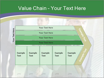 Businessman calling PowerPoint Template - Slide 27