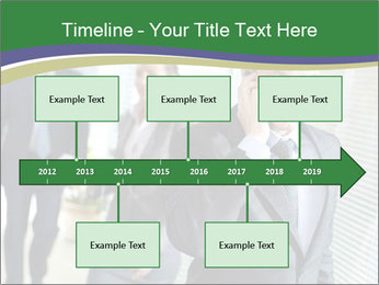 Businessman calling PowerPoint Template - Slide 28