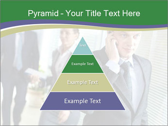 Businessman calling PowerPoint Template - Slide 30