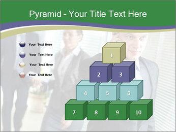 Businessman calling PowerPoint Template - Slide 31