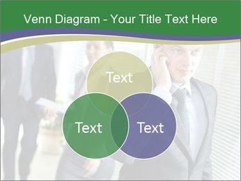 Businessman calling PowerPoint Template - Slide 33