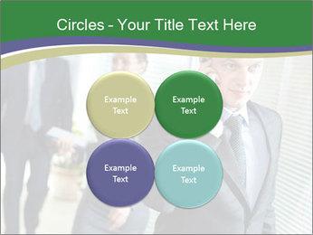Businessman calling PowerPoint Template - Slide 38