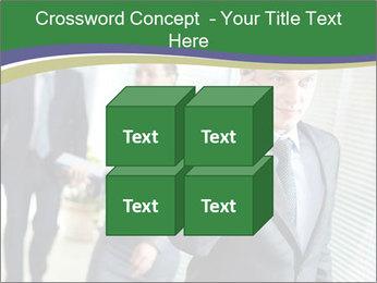 Businessman calling PowerPoint Template - Slide 39