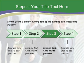 Businessman calling PowerPoint Template - Slide 4