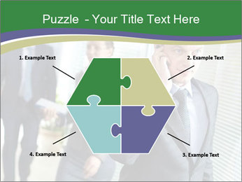 Businessman calling PowerPoint Template - Slide 40