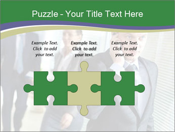 Businessman calling PowerPoint Template - Slide 42