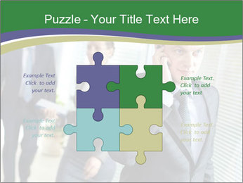Businessman calling PowerPoint Templates - Slide 43
