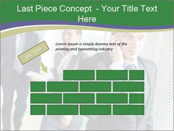 Businessman calling PowerPoint Templates - Slide 46