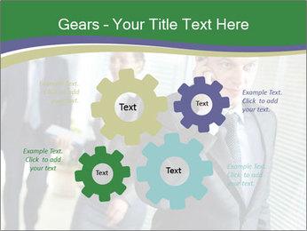 Businessman calling PowerPoint Template - Slide 47