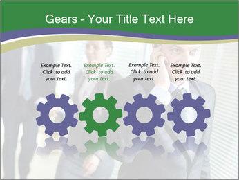Businessman calling PowerPoint Template - Slide 48