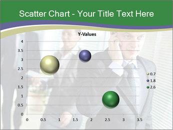 Businessman calling PowerPoint Template - Slide 49