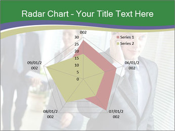 Businessman calling PowerPoint Template - Slide 51