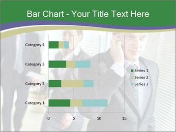 Businessman calling PowerPoint Template - Slide 52