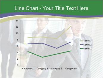 Businessman calling PowerPoint Template - Slide 54