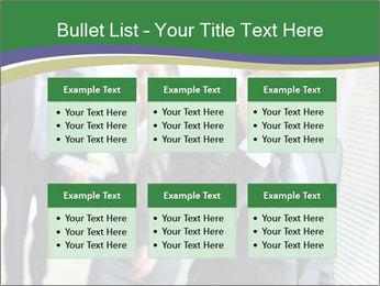 Businessman calling PowerPoint Template - Slide 56