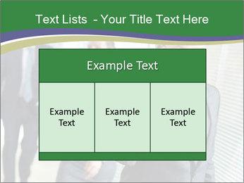 Businessman calling PowerPoint Template - Slide 59