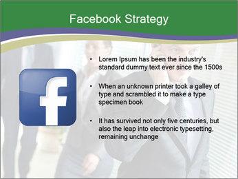 Businessman calling PowerPoint Template - Slide 6