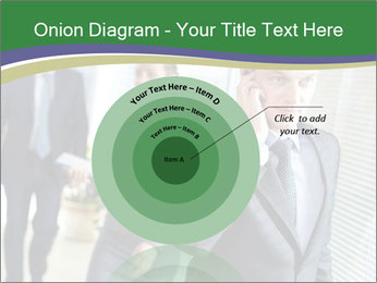 Businessman calling PowerPoint Template - Slide 61