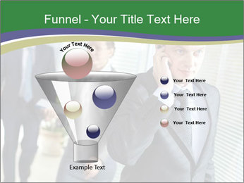 Businessman calling PowerPoint Template - Slide 63