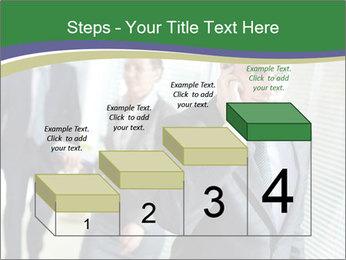 Businessman calling PowerPoint Template - Slide 64